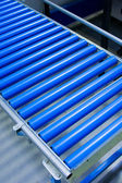 Cylinder conveyor detail — Stock Photo