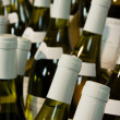 Bottles of wine — Stock Photo
