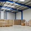 Stockfoto: Industrial warehouse