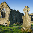 Athenry Dominican Friary with cemetery — Stock Photo