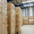Industrial warehouse — Stock Photo