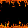 Fire flame,isolated — Stock Photo #1518671