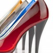 Stock Photo: Woman shoe
