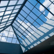 Stock Photo: Glass roof
