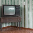 Stockfoto: Old tv