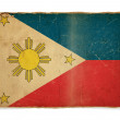 Royalty-Free Stock Photo: Grunge flag of Philippines