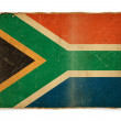 Grunge flag of South Africa — Stock Photo