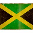 Grunge flag of Jamaica - Foto Stock