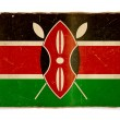 Grunge flag of Kenya — Stock Photo #1183013