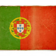Grunge flag of Portugal — Stock Photo