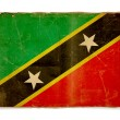 Grunge flag of Saint kitts and nevis — Stock Photo #1183086