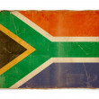 Grunge flag of South africa — Stockfoto #1183118