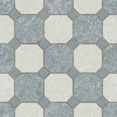 无缝瓷砖厨房地板 — 图库照片