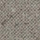 Seamless diamond steel background — Photo