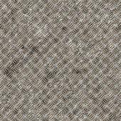 シームレスなダイヤモンド鋼背景 — ストック写真
