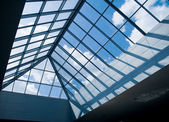 Glass roof — Stockfoto