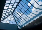 Szklany dach — Zdjęcie stockowe