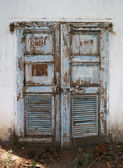 Grunge door — Stock Photo