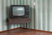 Eski bir tv — Stok fotoğraf