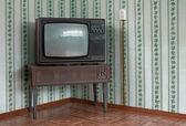 Oude tv — Stockfoto