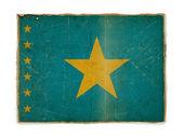 Grunge flag of Congo Democratic Republic — Stock Photo