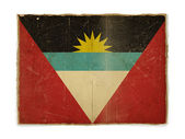 Grunge flag of Antigua and Barbuda — Stock Photo