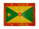 Grunge flag of Grenada — Stock Photo