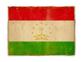 Grunge flag of Tajikistan — Stock Photo