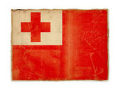 Grunge flag of Tonga — Stock Photo