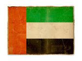 Grunge flag of United Arab Emirates — Stock Photo