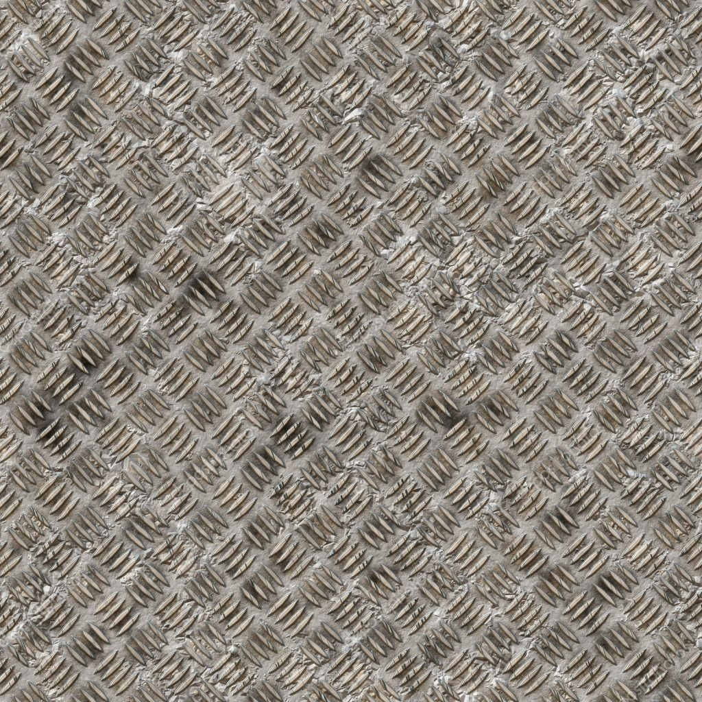 Rusty grunge diamond steel plate background.. — Stock Photo #1182284