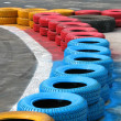 Racing fence - Stock Photo