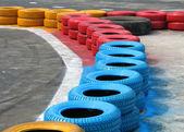 赛车栅栏 — 图库照片