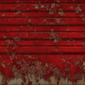 Superfície de metal enferrujada — Foto Stock