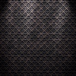 Seamless diamond steel background - Stock Photo