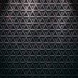 Seamless diamond steel background — ストック写真