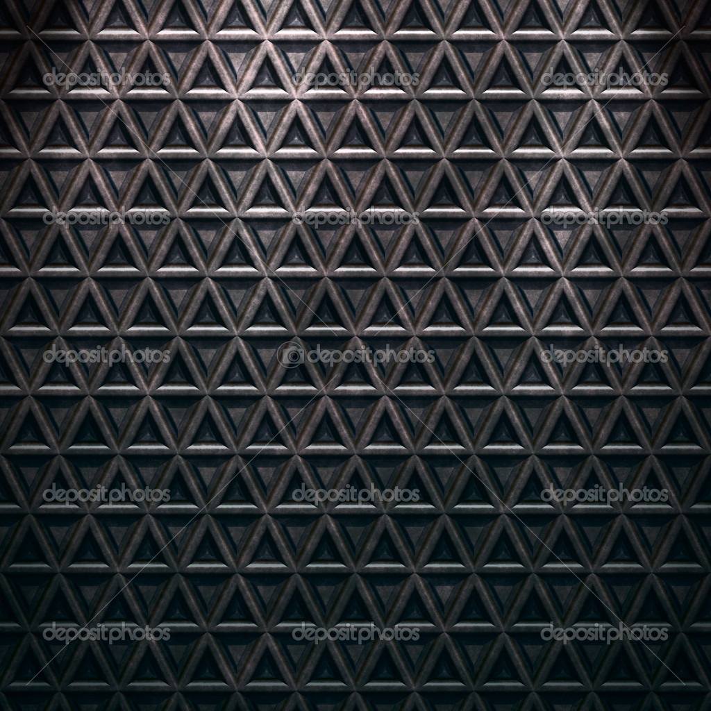 Rusty grunge diamond steel plate background. — Stock Photo #2208659