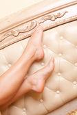 Babski nogi — Zdjęcie stockowe