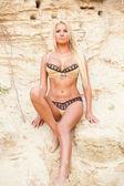 Sexy bikini model. — Stock Photo