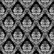 Black and White wallpaper — Stockfoto