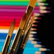 Brushes art — Stock Photo