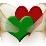 Symbol of love — Stock Photo
