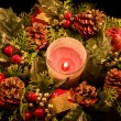 Advent wreath — Stock Photo #1223741
