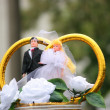 Stock Photo: Wedding dolls