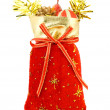 Santa Claus sack — Stock Photo
