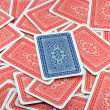 Royalty-Free Stock Photo: Background from playing cards