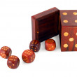 Dices in dice — Stock Photo