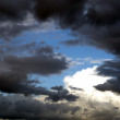 Clouds and skies — Stock Photo