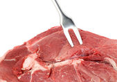 Raw red meat — Stock Photo