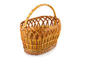 Braided basket — Stock fotografie